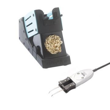 威乐军标精密拆焊笔套装,WXMT MS微型拆焊镊子2X40W/12V、WDH 60带干式清洁球安全支架,WXMT MS(T0051320399N)