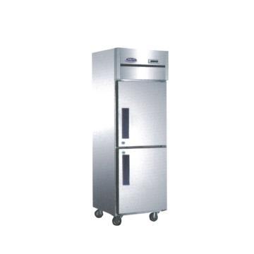 广东星星 格林斯达C系 二门冷冻柜,D500C2 ,630×730×1940mm,内外箱201#不锈钢,铜管蒸发器,自动回归门,中梁带发热丝,黑色塑料把手