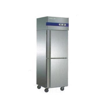 广东星星 格林斯达E系 二门冷冻柜,D500E2-GX,620×692×1910mm,内外箱201#不锈钢