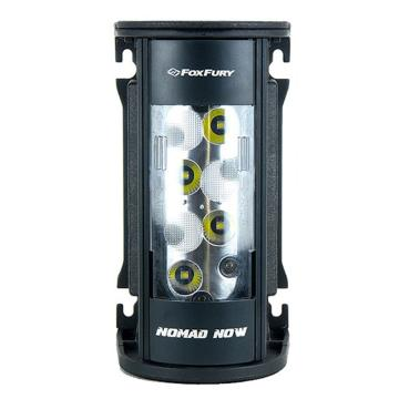 FoxFury Nomad NOW 便携式移动照明LED灯 200-400-100(一对多遥控款),2500流明,含一对多遥控器配件包:磁力吸附板单1块、AC/DC电源适配器、AC电源线、12VDC 车载点烟头、螺钉