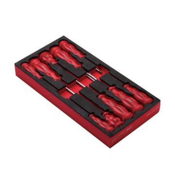 史丹利EVA工具托组套-10件螺丝刀,90-033-23