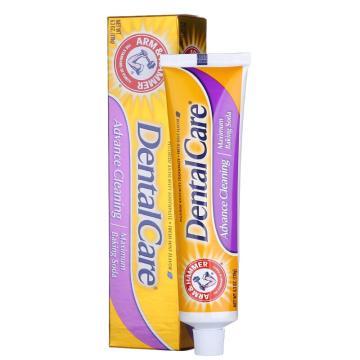 艾禾美(ARM&HAMMER)小苏打专业呵护牙膏,178g,单位:个