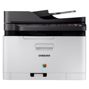 三星(SAMSUNG) SL-C480FW A4彩色打印机复印机激光多功能一体机 打印/复印/扫描 无线网络