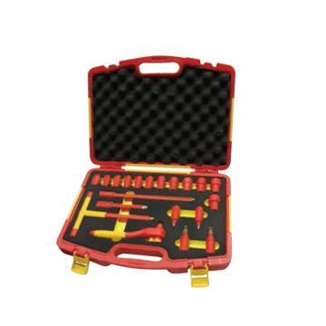 史丹利20件12.5MM系列绝缘工具组套,STMT75886-8-23