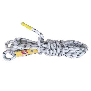 鸿宝 消防安全绳,20m长,9.5mm粗,含3C