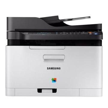 三星(SAMSUNG) SL-C480FN A4彩色打印机复印机激光多功能一体机 打印/复印/扫描 有线网络
