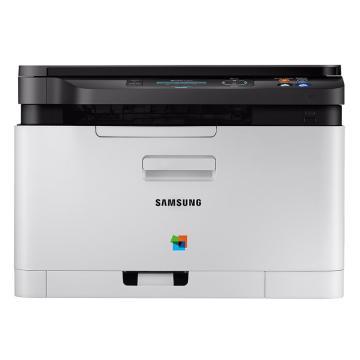 三星(SAMSUNG) SL-C480W A4彩色打印机复印机激光多功能一体机 打印/复印/扫描 无线网络