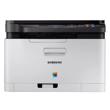 三星(SAMSUNG) SL-C480 A4彩色打印机复印机激光多功能一体机 打印/复印/扫描