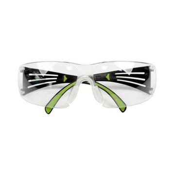 3M SF401AF安全防护眼镜,透明防雾