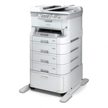 爱普生打印机全配版 WF-8593 (WF-8593 标配+2个纸盒+1个工作台)