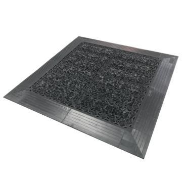 艾伦模块刮砂地垫A02 灰色 19.5cm*19.5cm*12mm