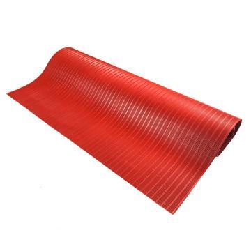 耐高压绝缘橡胶垫红色5mm,耐压 5000V-10000V,幅宽1m