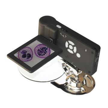 手持数码显微镜,10-200倍,3英寸屏幕,500万像素
