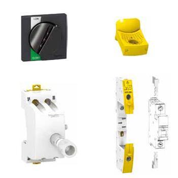 施耐德电气 微型断路器挂锁附件(内含10个),A9A26970