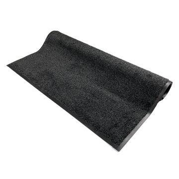 吸水控尘垫,耐用吸水控尘尼龙橡胶地垫, 钉底 灰色 85cm*150cm*1cm