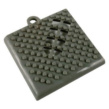 爱柯部落地垫转角,疏水防滑拼块,5*5cm 单位:片