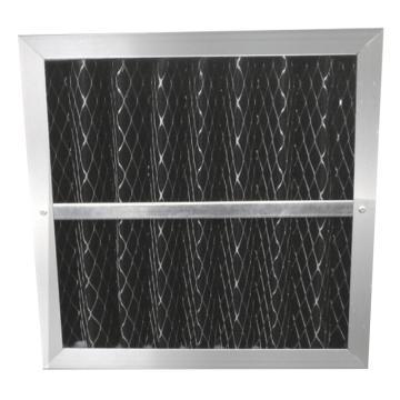 JAF 铝框活性炭板式过滤器,595*595*46mm,过滤等级G4