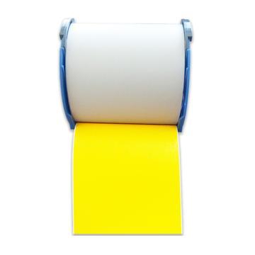 普贴 哑面黄色PVC标签, PT-T1YNA(EPSON-Pro100标签打印机使用) 单位:个