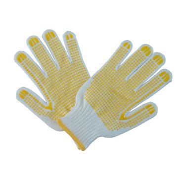 好員工 點塑手套,H10-M700D,10針毛紡700克點珠紗線手套,12副/打