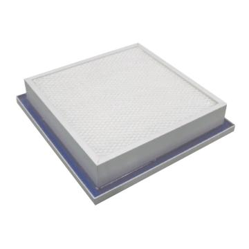 JAF 铝框侧液槽高效过滤器,宽*高*厚度450*450*93mm,过滤效率H14