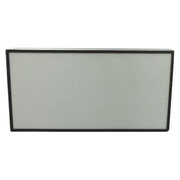 JAF 铝框无隔板高效过滤器,宽*高*厚度305*610*70mm,过滤效率H14