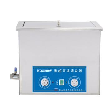 KQ5200V型超声波清洗机,40KHz,容量:13L,室温-80℃