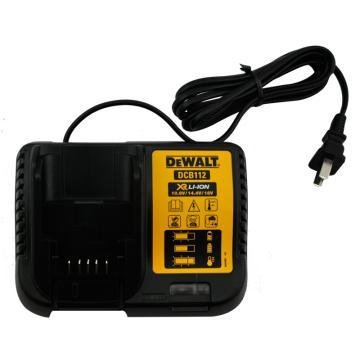 得伟充电器,10.8-18V通用锂电池充电器 (2AMP电流),DCB112