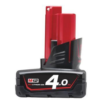 美沃奇(原品牌名:米沃奇)鋰電池,12V 4.0Ah,M12B4