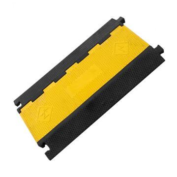 五槽电缆保护座,长910×宽500×高50mm,内槽尺寸:宽35mm×高30mm