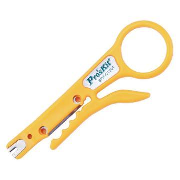 寶工 Pro'skit 簡單剝線/壓線工具,8PK-CT001