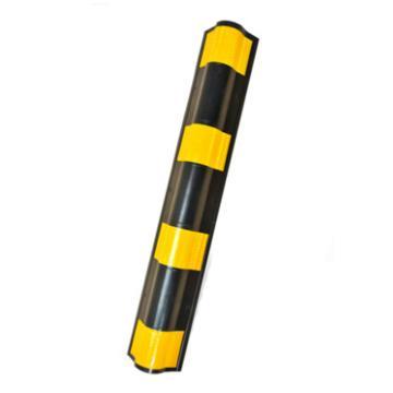 圆角橡胶反光护角,长800×宽100×厚10mm