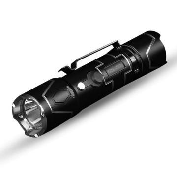 务本 i332 LED强光便携手电筒,520流明 含16340锂电池、抱夹、手绳、USB线、备用O圈 单位:个