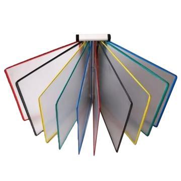 东普 挂式十页展示架(混色页面),A4幅面 单位:套