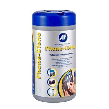 AF 电话清洁巾, 杀菌型电话清洁擦纸(100片/筒) 单位:筒