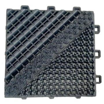 爱柯部落刮雪垫除尘垫,拼接垫,15cm*15cm*25mm 灰色,单位:片