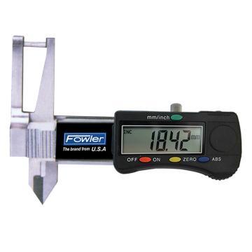 FOWLER 三用数显卡规,0-25mm,51223291