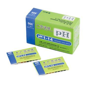 pH试纸,1.0-14,80张/本