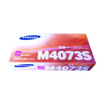 三星(SAMSUNG)CLT-M4073S红色粉盒 适用于CLP-328 326 321N CLX-3186/3185系列