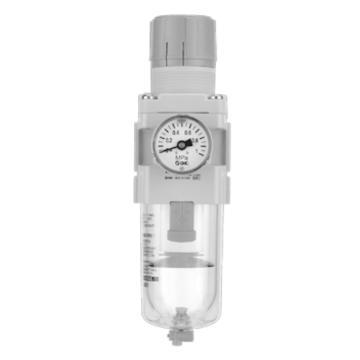 SMC 过滤减压阀,带压力表,AW20-F02G-A