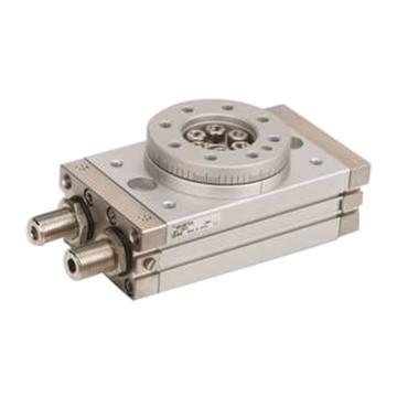 "SMC 齿轮齿条式摆动摆台,缸径32mm,接管尺寸Rc1/8"",MSQB100R"