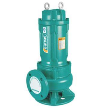 新界 WQ12-15-1.5L1(FL) WQ系列潜水排污泵 法兰连接,带出水弯管,标配电缆8米