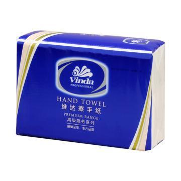 维达200张单层高级商务擦手纸  20包/箱  纸张规格:222*227 单位(箱)