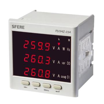 斯菲尔 电流表,PD194Z-2S4+380V 5A 3P4W 带DP通讯