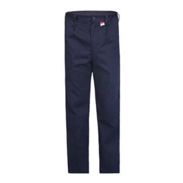雷克兰Lakeland 8cal系列防电弧裤子,单层Tecasafe Plus面料,深蓝,尺码:XS
