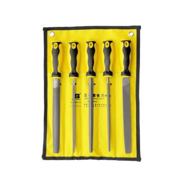 """波斯 五件套锉刀,8""""/200mm,BS508152"""