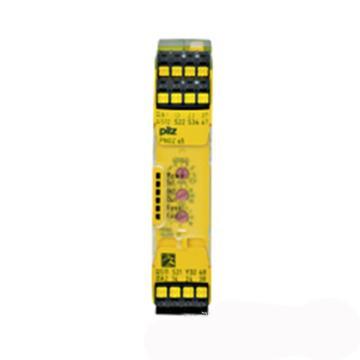 皮尔兹Pilz 继电器,750105 PNOZ s5 24VDC 2 n/o 2 n/o t