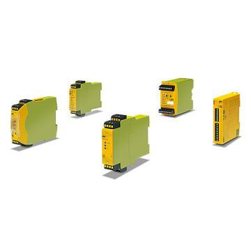 皮尔兹Pilz 安全继电器,PNOZ X1 24VAC/DC 3n/o 1n/c(774300)