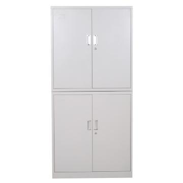 档案柜,900宽*390深*1800高,灰白色,钢板厚度为0.7mm