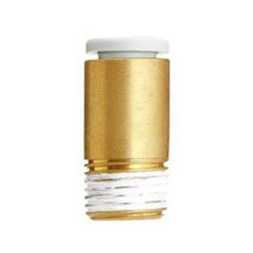 SMC 带内六角孔直通接头,KQ2S06-01AS