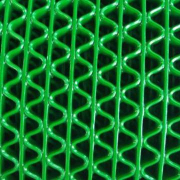 疏水防滑地垫卷材PVC 绿色 1.2m*15m*4.5mm X030201039